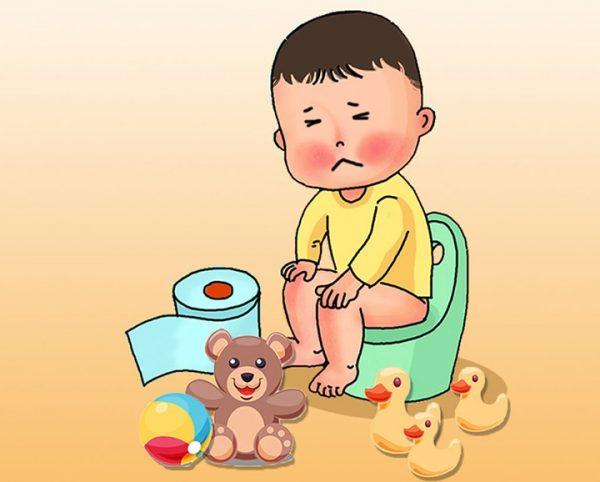 biến chứng táo bón ở trẻ em