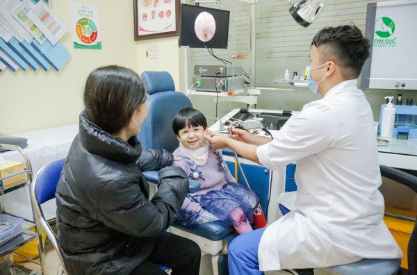 điều trị viêm tai ở trẻ em