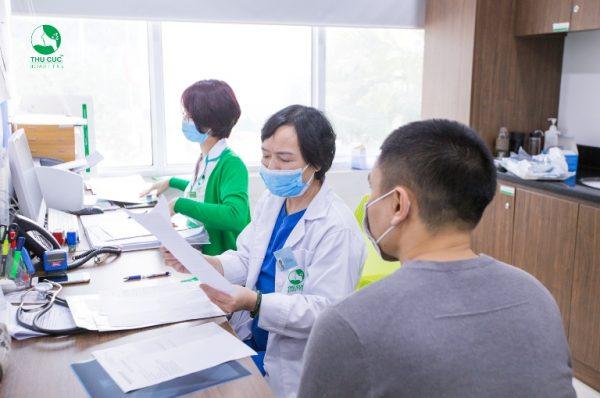 Toàn bộ quy trình được thực hiện theo một tiến trình khoa học từ khâu khám lâm sàng tổng quát tới các xét nghiệm chuyên sâu.