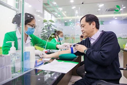 xét nghiệm máu nhiễm mỡ tại Thu Cúc