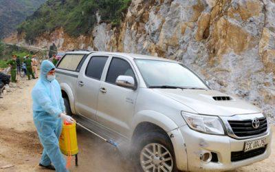 2 người tiếp xúc gần với cô gái mắc COVID-19 ở Hà Giang đã âm tính