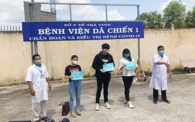 Thêm 21 bệnh nhân COVID-19 khỏi bệnh, Việt Nam có 198 ca khỏi