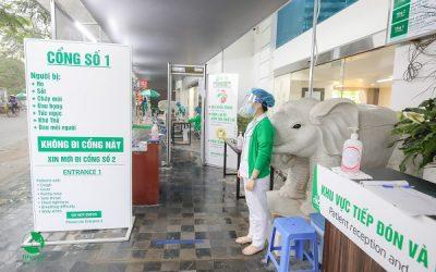 Công tác phòng dịch COVID-19 tại Bệnh viện Thu Cúc được đánh giá cao