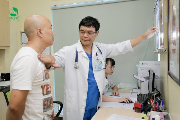 Khám bệnh gan tại bệnh viện ĐKQT Thu Cúc
