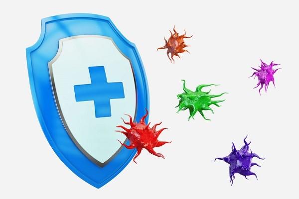 """Hệ miễn dịch được ví như """"lá chắn"""" bảo vệ con trước sự tấn công của các virus, vi khuẩn, ký sinh trùng,... nếu suy giảm sẽ là cơ hội để các tác nhân bên ngoài xâm nhập gây hại đến sức khỏe."""