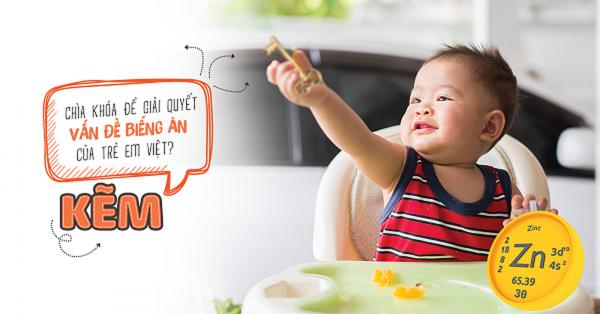 trẻ biếng ăn nên bổ sung vi chất gì