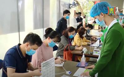 Đài TH Hà Nội làm phóng sự đưa tin Bệnh viện Thu Cúc triển khai thực hiện BS Online, hỗ trợ người dân trong mùa dịch covid-19