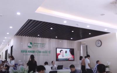 Khám sức khỏe doanh nghiệp tại Bệnh viện ĐKQT Thu Cúc