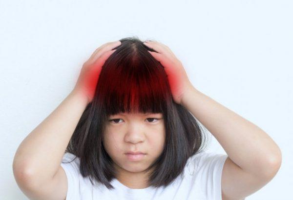 nguyên nhân gây đau đầu ở trẻ