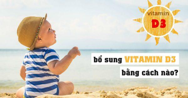 tắm nắng cho trẻ để bổ sung vitamin D cần đúng cách