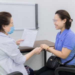 Khám sức khỏe cho nhân viên công ty Sài Gòn Co.op tại Bệnh viện ĐKQT Thu Cúc