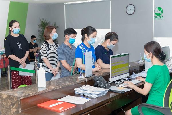 Một số hình ảnh khám sức khỏe định kỳ của CBCNV Công ty Sài Gòn Co.op tại Bệnh viện Đa khoa Quốc tế Thu Cúc: