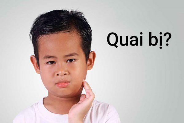 quai bị là bệnh thường gặp ở bé trai