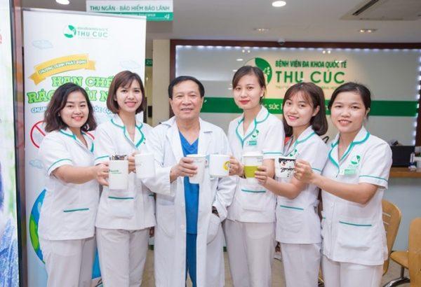 """Bệnh viện Thu Cúc phát động chiến dịch check in hưởng ứng """"Tháng hành động vì môi trường"""""""