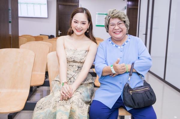 Diễn viên Lã Thanh Huyền và NSUT Minh Vượng