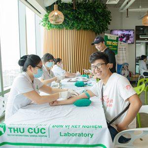 Công ty cổ phần Garena Việt Nam khám sức khỏe doanh nghiệp tại Bệnh viện ĐKQT Thu Cúc