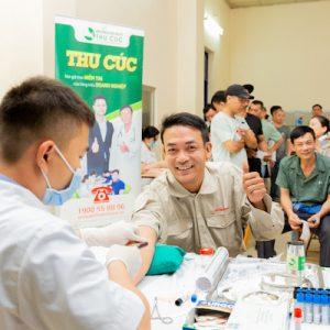 Công ty Sơn tổng hợp Hà Nội lựa chọn Bệnh viện ĐKQT Thu Cúc để thăm khám sức khỏe cho nhân viên