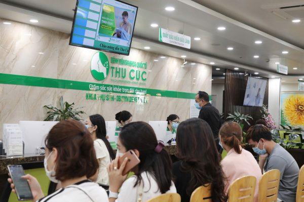 Bệnh viện ĐKQT Thu Cúc là một trong những bệnh viện tư có số lượng bệnh nhân đến khám đông nhất tại Hà Nội hiện nay.
