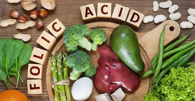 Chị em nên bổ sung các loại thực phẩm giàu axit folic