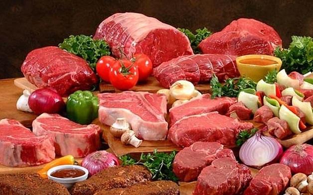 gãn nhiễm mỡ không ăn thịt đỏ
