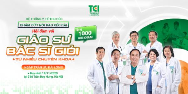 Cơ hội gặp gỡ, tư vấn cùng các chuyên gia đầu ngành nhiều chuyên khoa hoàn toàn miễn phí