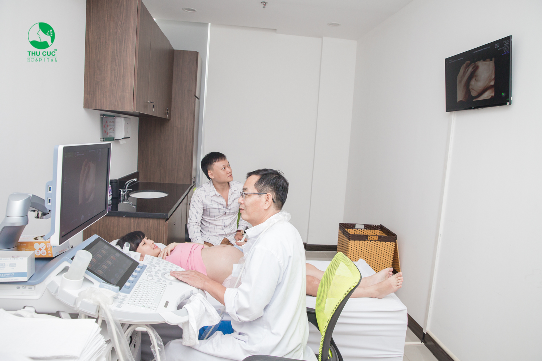Khám thai tại bệnh viện ĐKQT Thu Cúc
