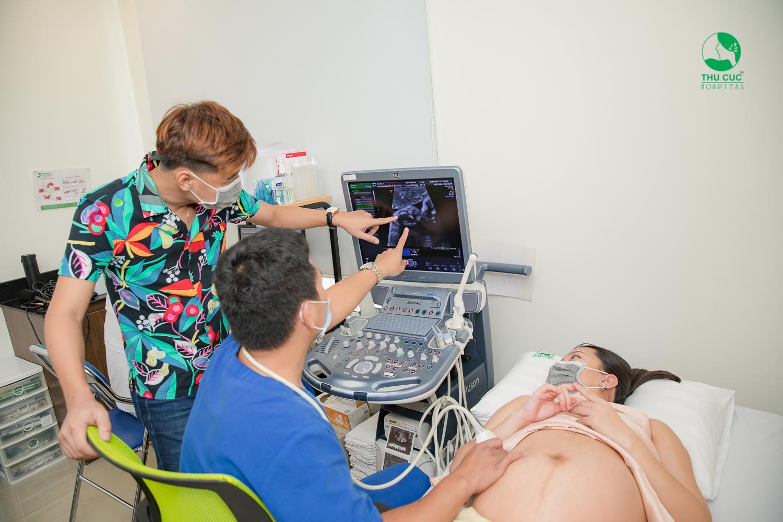 Nhận biết dấu hiệu ngôi thai thuận qua phương pháp siêu âm