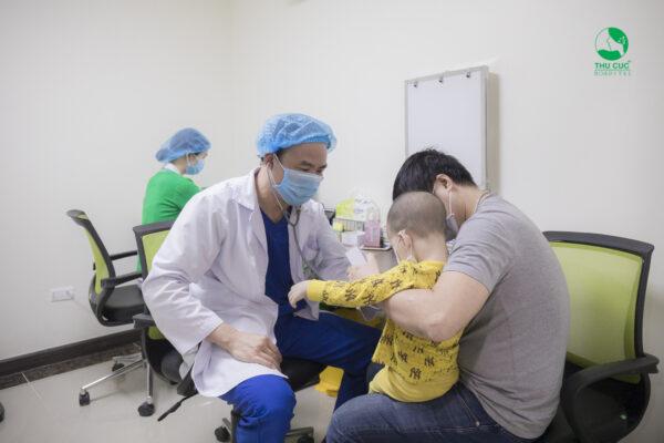 địa chỉ khám và điều trị sốt virus ở trẻ em