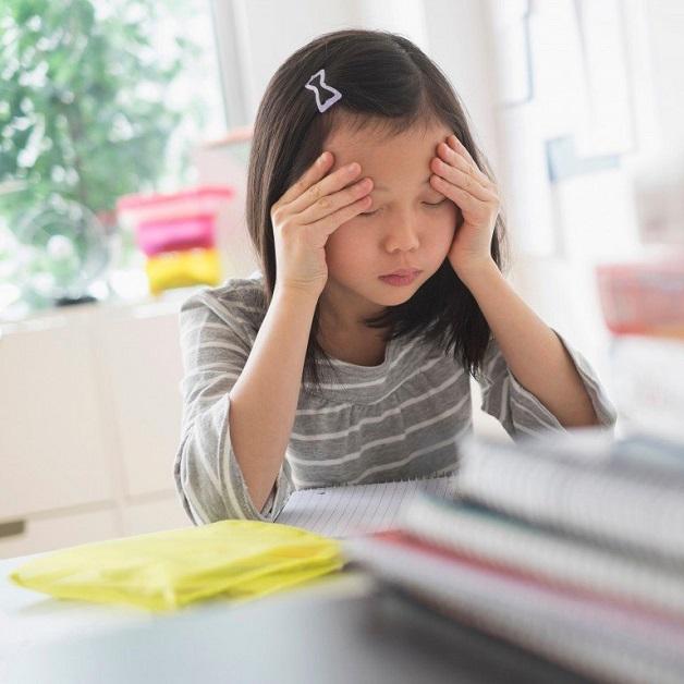bệnh đau đầu ở trẻ em