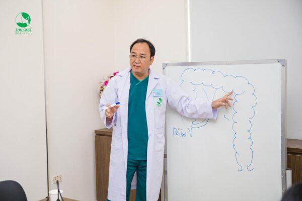Cần thăm khám với bác sĩ chuyên khoa để xác định nguyên nhân gây ra trĩ và điều trị triệt để tránh trĩ tái phát