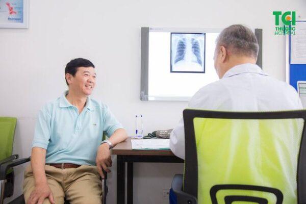 xét nghiệm máu tầm soát ung thư phổi