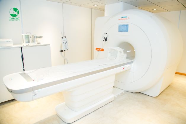 Bệnh viện ĐKQT Thu Cúc sở hữu công nghệ chụp cộng hưởng từ MRI ứng dụng nguyên lý H2 hiện đại