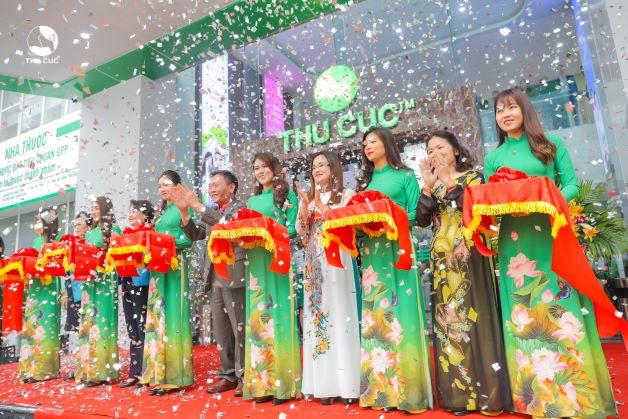 Phòng khám ĐKQT Thu Cúc tại 216 Trần Duy Hưng với diện tích 7000m2, với nhiều phòng khám chuyên khoa.