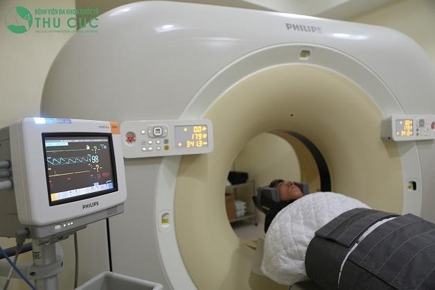 Chụp CT giúp chẩn đoán thiếu máu não cục bộ thoáng qua