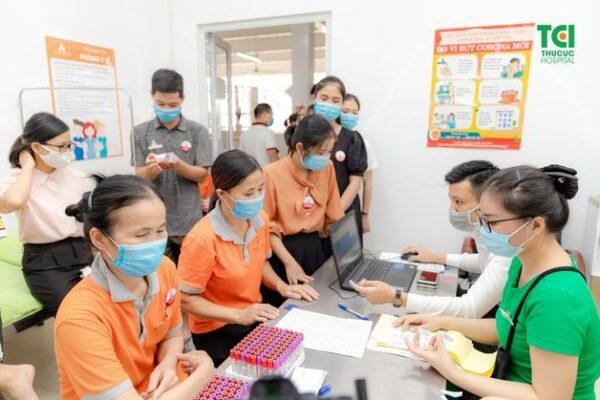 khám sức khỏe cho giáo viên