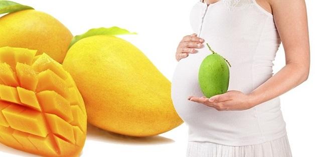 Ăn xoài chua chứa nhiều acid có thể làm tình trạng đau dạ dày khi mang thai trầm trọng hơn