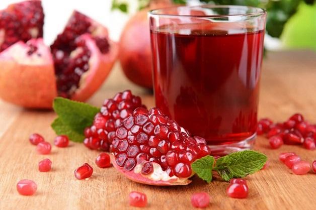Đau dạ dày nên ăn hoa quả gì - lựu