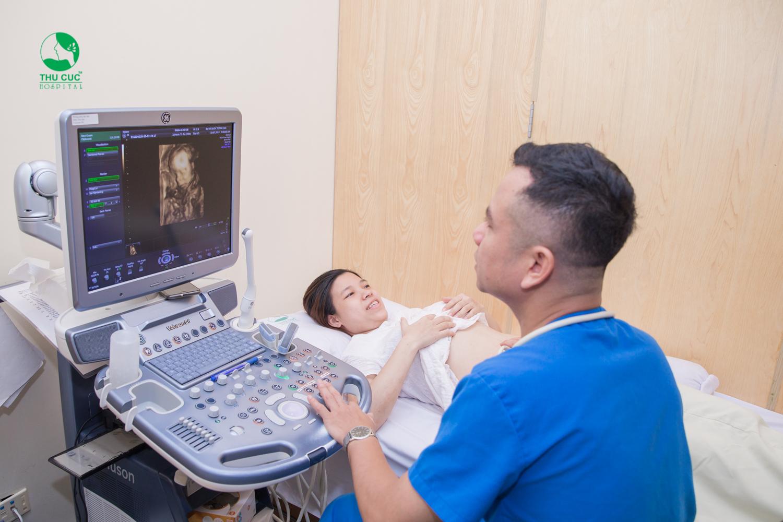 Siêu âm thai ba tháng đầu giúp kiểm tra nhiều thông số quan trọng trong thai kỳ