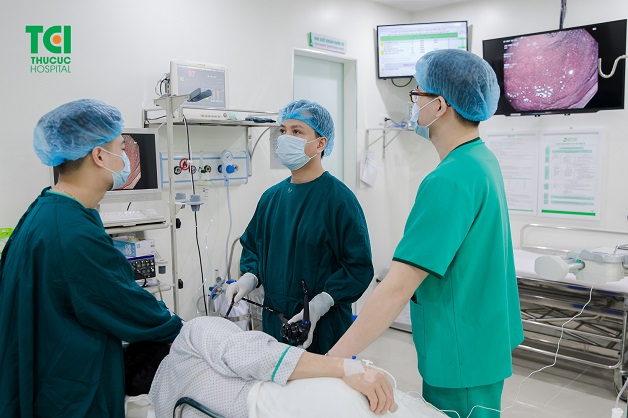 nội soi dạ dày đại tràng không đau siêu sạch công nghệ NBI 5P