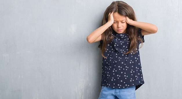 cơn đau đầu ở trẻ em